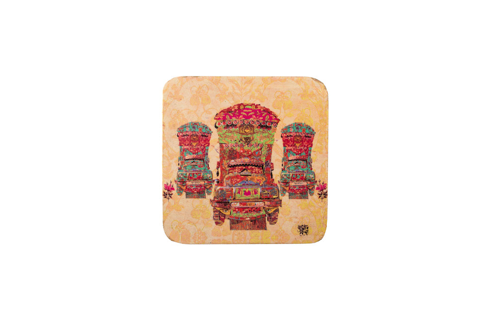 Colourful Coaster - Set of 6