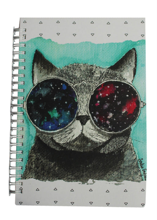 Galaxy Cat Hardcover Journal