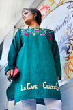 Cats and Fish Cotton Khaddar Kurta