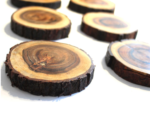 Wooden Coasters - Pack of 6
