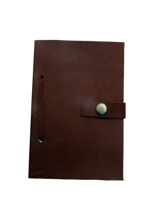 Leather Diary in Brown