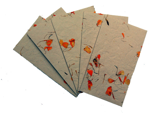 Floral Envelopes with Marigold (Pack of 10)