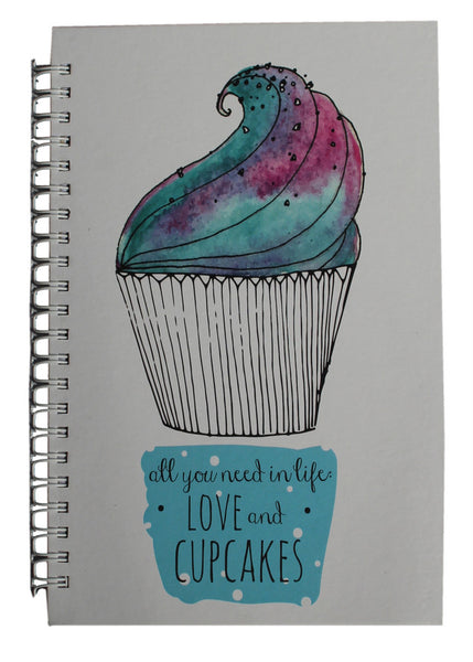 Cup Cake Hardcover Journal