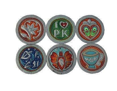 Set of six coasters - We Heart Pakistan
