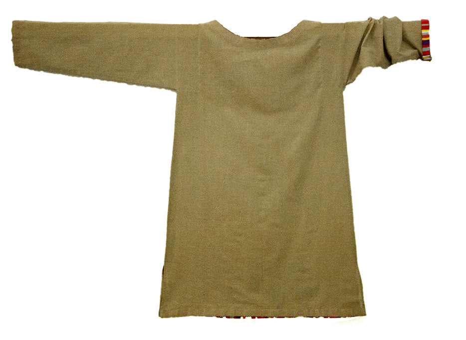 Khaddar Tunic with Child-like Scenery