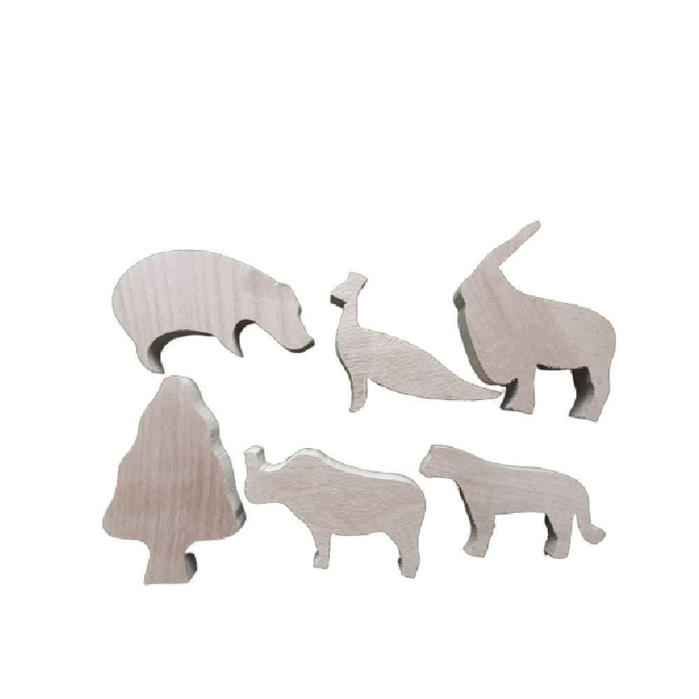 Activity Box Wild Animals