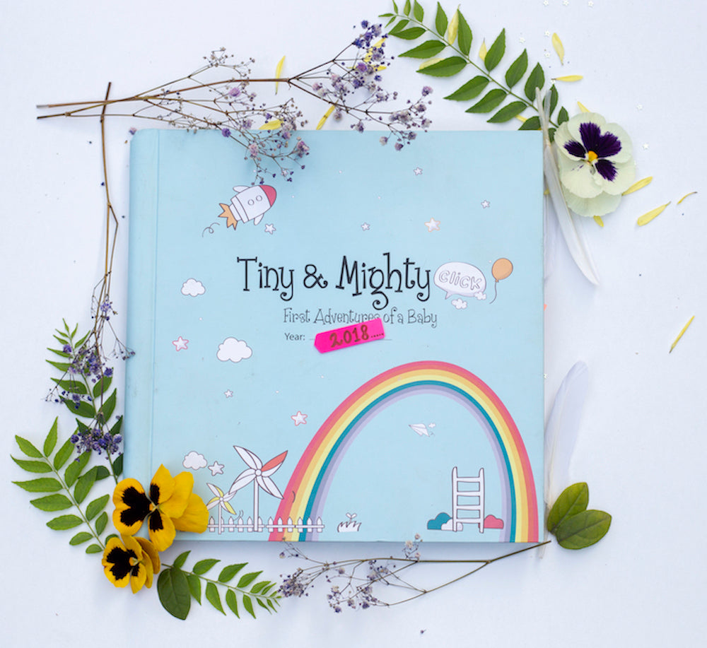Tiny & Mighty Baby Book