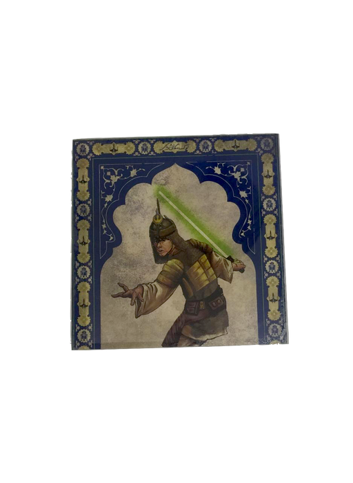 Star Wars Mughal Square Coaster- Luke Skywalker