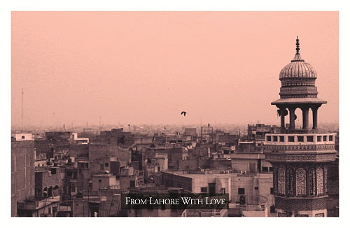 From Lahore With Love Postcard 2