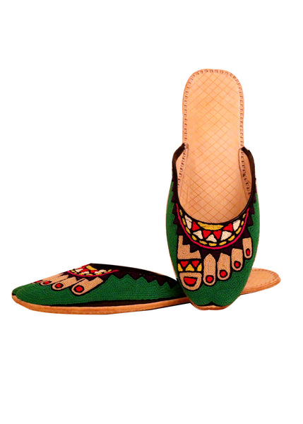 Tippy Toe Shoes Vibrant Green