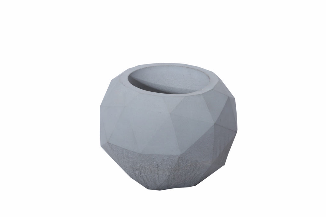 Concrete Planter - Geo Sphere