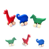 Handmade Wooden Block Animals