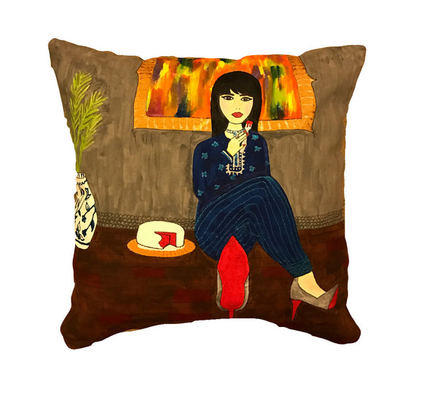 'A time for cake' Cushion