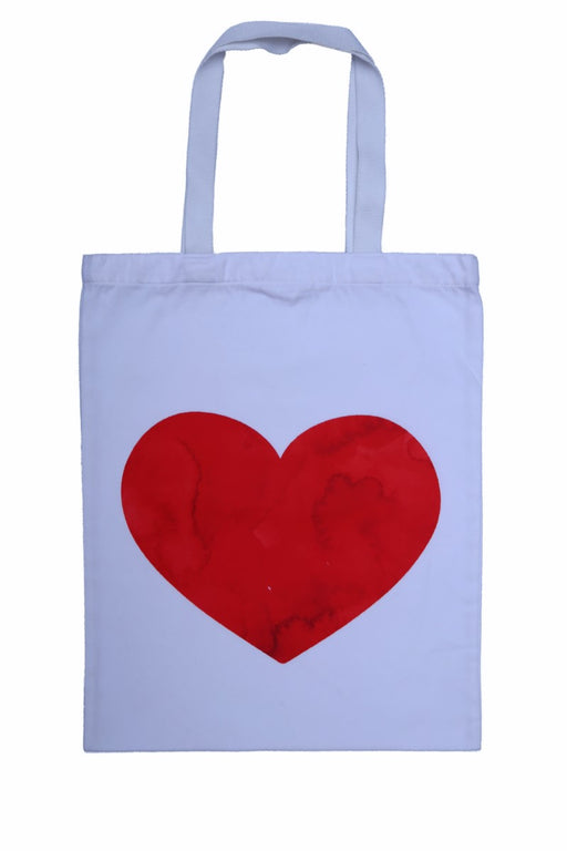 Heart Fabric Tote