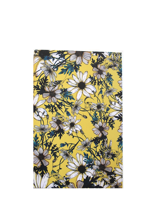 Daisy Hopper Notebook Summer Yellow