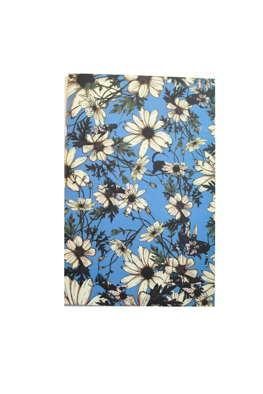 Daisy Hopper Notebook Dusty Blue