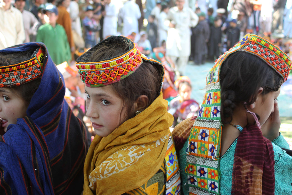 Kalash Girls - Photographic Print