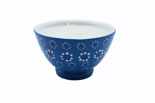 Polly Candle - Dot Pattern