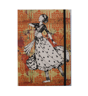 Accessories Printed Hard Cover Notebooks By Matador butterflies