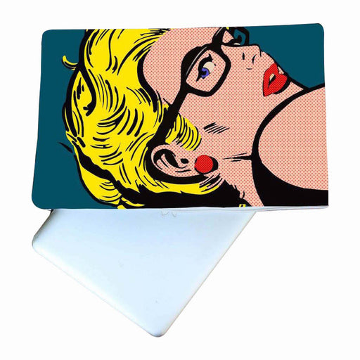 Pop Art Woman Laptop Cover