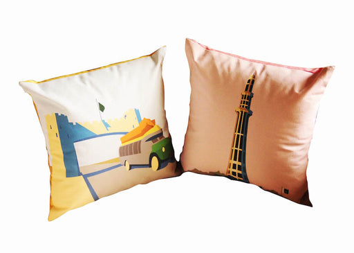 Pakistani Monuments Mini Cushions