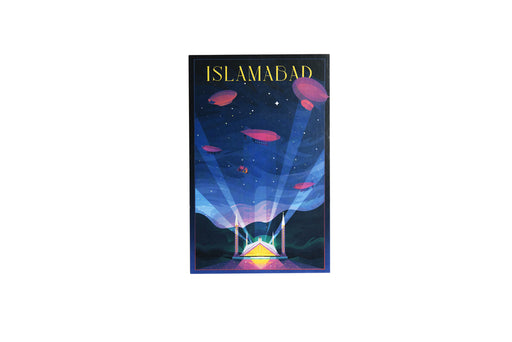 Islamabad Travel Poster 1