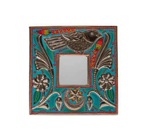 Small Mirror Frame - Blue Bird