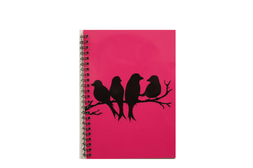 Notebook - Birds On A Branch