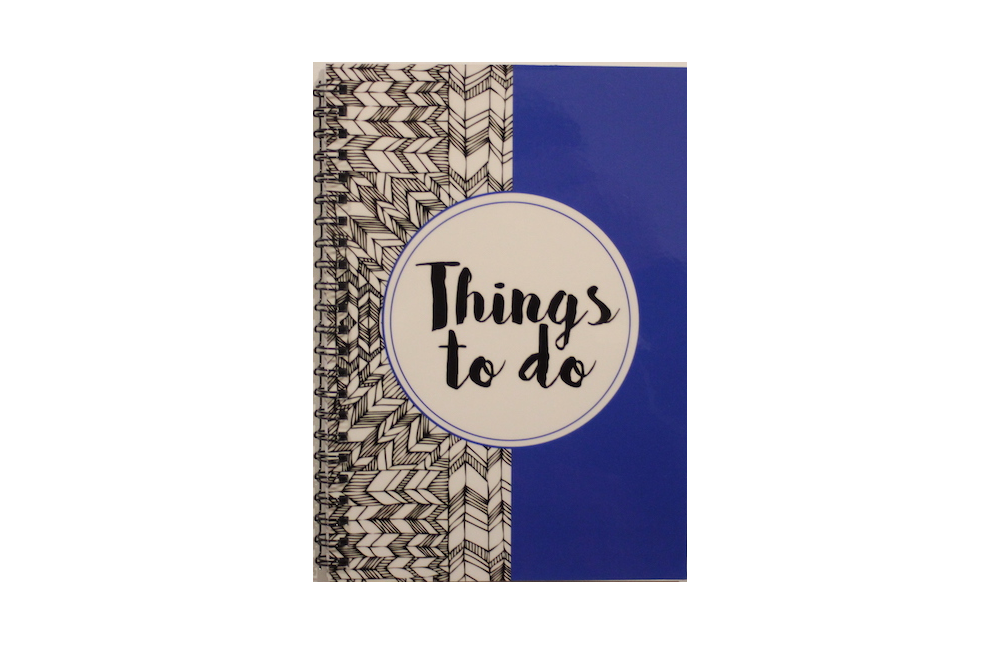Notebook - Things To Do