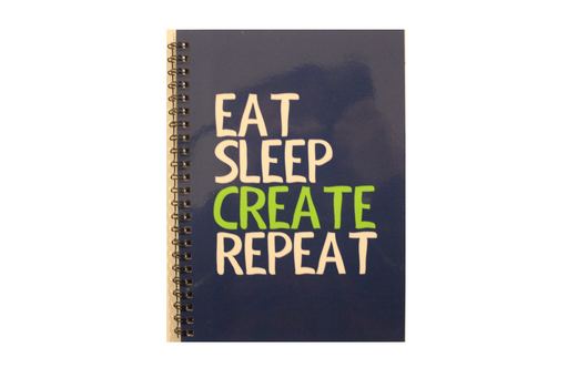 Notebook - Eat Sleep Create Repeat