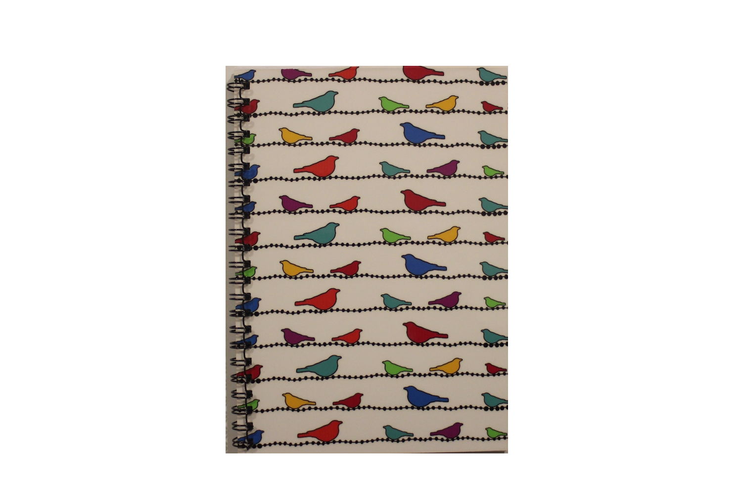 Notebook - Birds On A Wire
