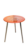 Orange Feathers Table