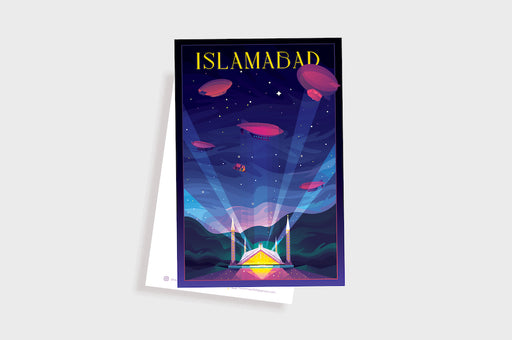 Islamabad Travel Postcard 1