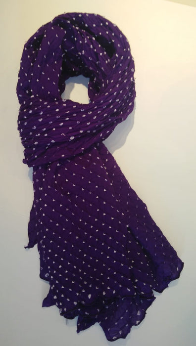 Chunri Scarf - Purple Haze