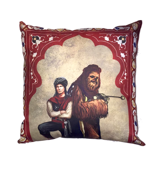 Star Wars Cushion- Hans Solo and Chewbacca
