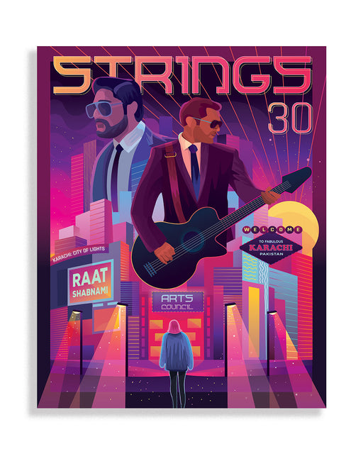 Strings Music Poster