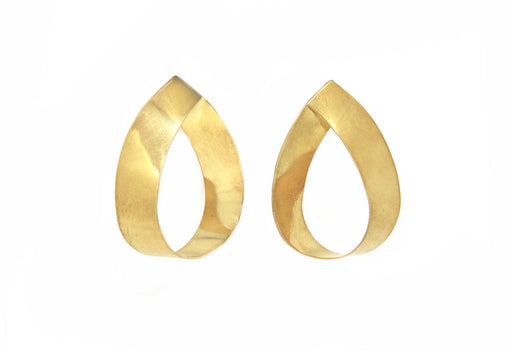 Teardrop Gold Plated Posts
