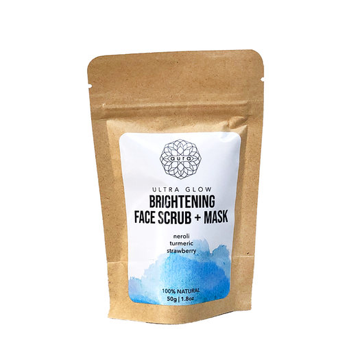 Ultra Glow Brightening & Toning Face Scrub & Mask - Pouch
