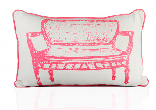 Vintage Sofa Print Cushion