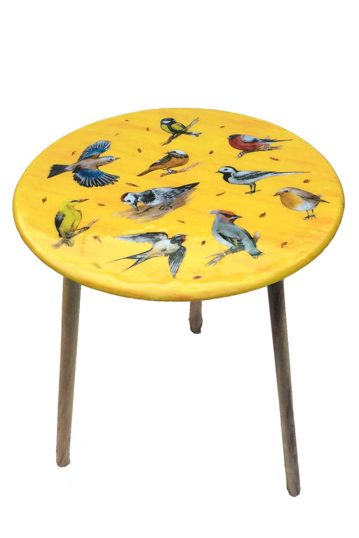 Vintage Birds Table