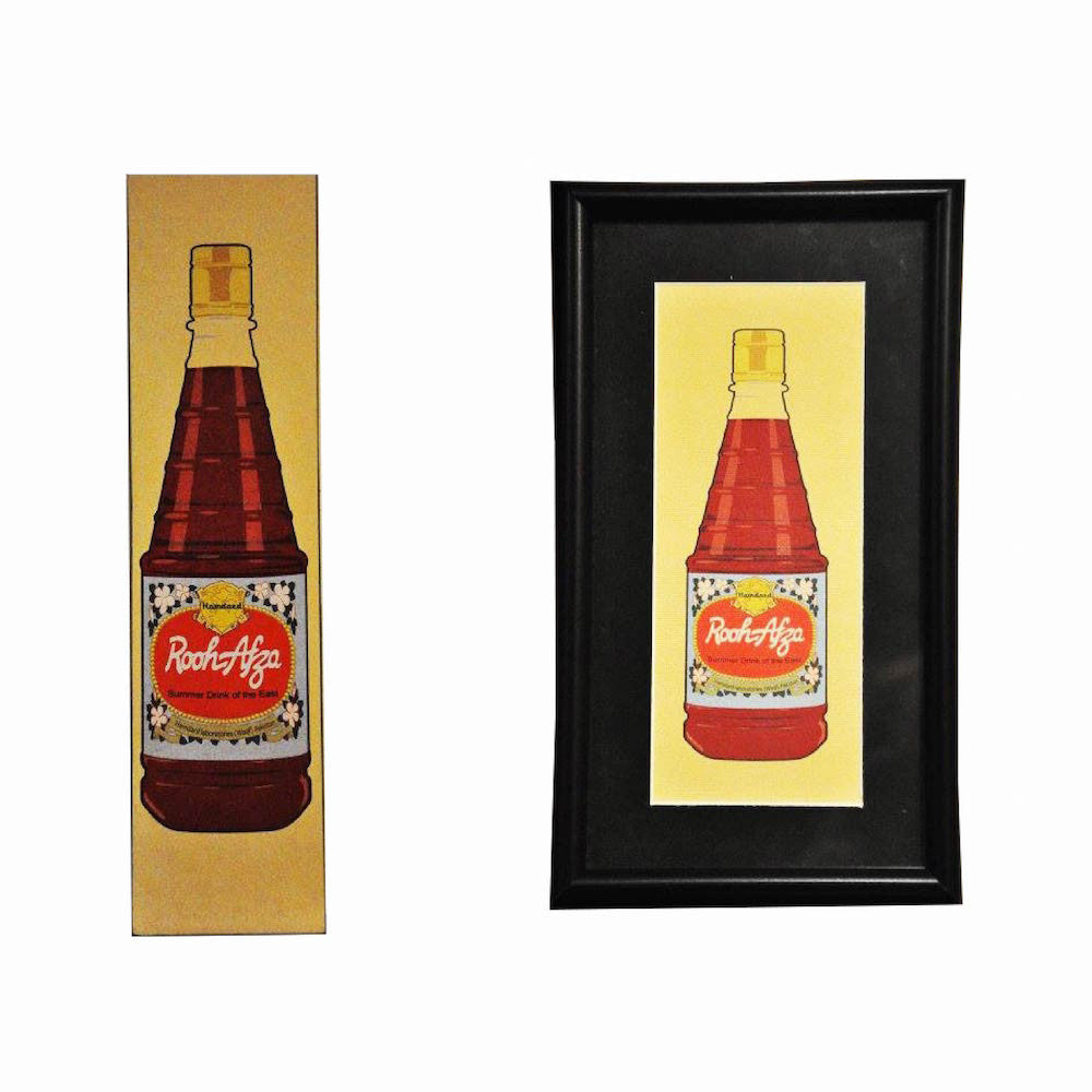 RoohAfza – Digital print framed