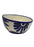Medium Bowl with Slant - Blue and White Floral