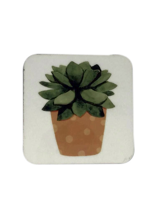 Green Leaves Coaster
