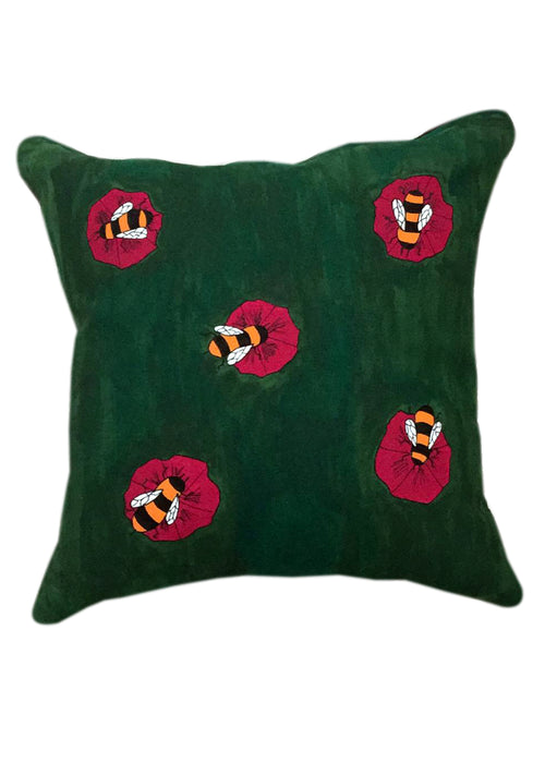 Honeybees on Cushion