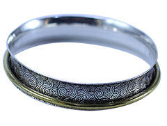 Brass Ring in Bangle