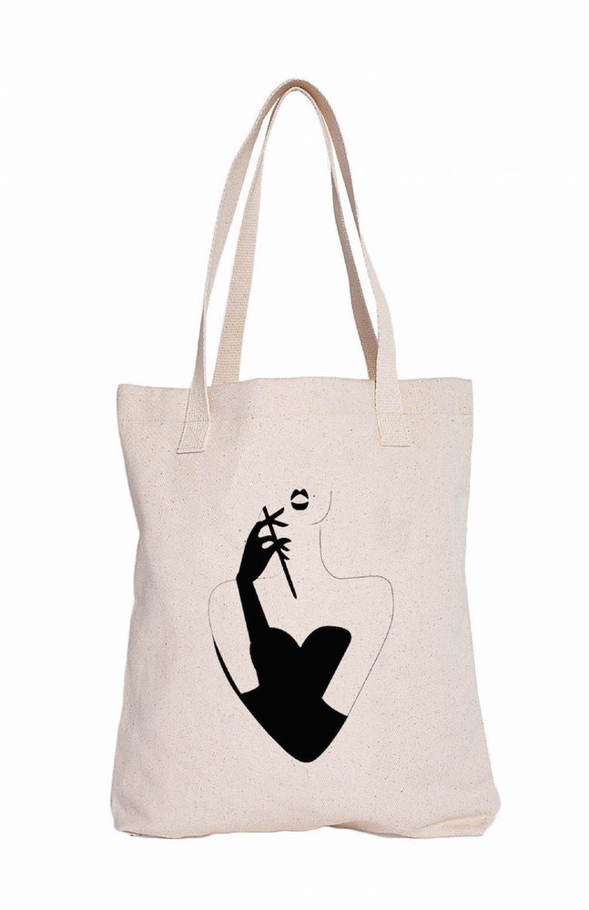 Femme Fatale Tote Bags