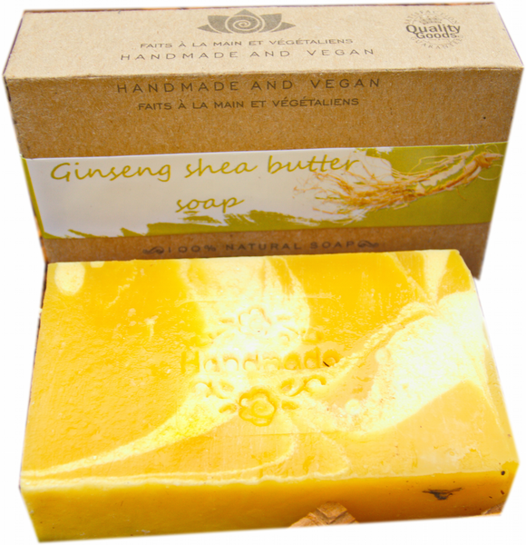 Ginseng Shea Butter Soap
