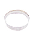 Flat Cut Hammered Bangle