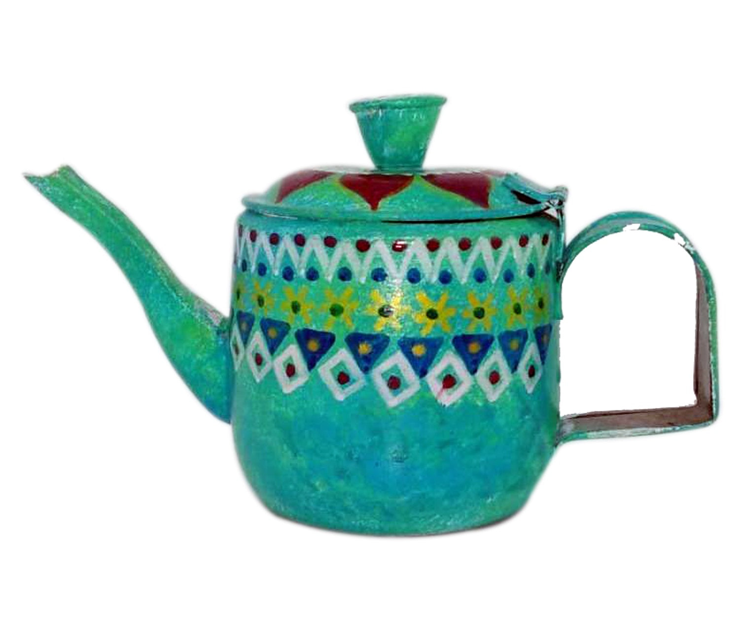 Tea Pot - Hand-painted