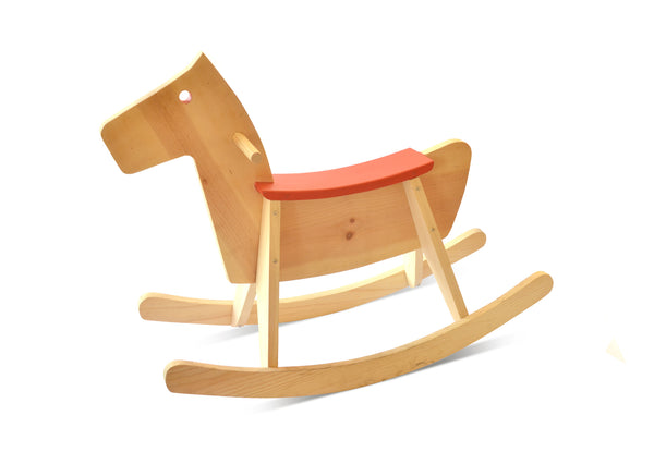 Handmade Wooden Rocking Horse